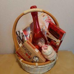 Gift basket for a girl