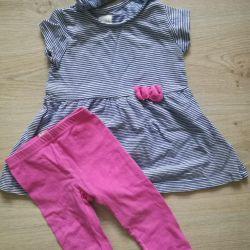 Set (dress + leggings and bandage) Poland