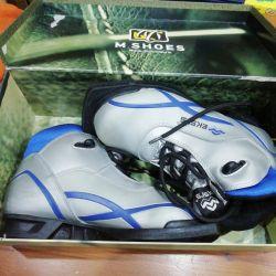 Ski boots.