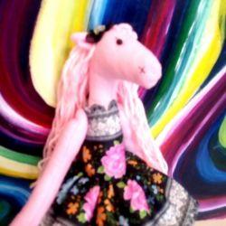 Un cal roz