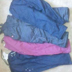 Pants on fleece for girls
