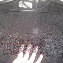 Черное итальянское платье IZGUL