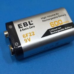 Acumulator de 9V litiu