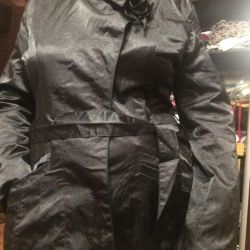 Satin classic jacket to the theater and cinema