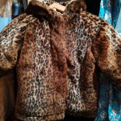 Children's fur coat for nothing