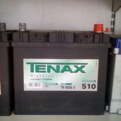 Аккумулятор TENAX 60AH 510A Asia новый