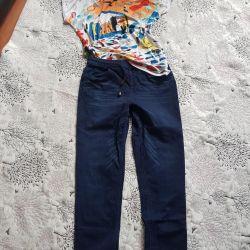 Pantolon ve Tişört 46 beden