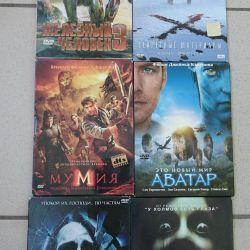 4 DVD discs 6 pcs.