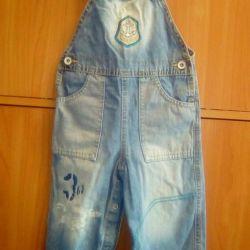 Overalls Gloria jeans, jacket warm