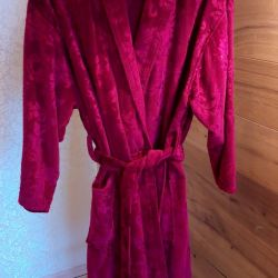 Luxury bathrobe