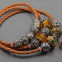 Bracelet in the style of Pandora 2182