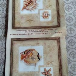 Two sets for embroidery.