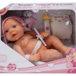 Newborn baby doll new vinyl