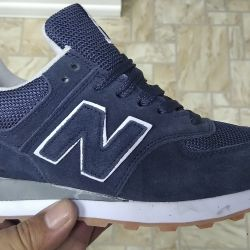 New sneakers blue NB 39 size