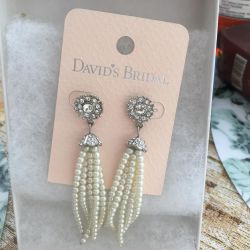 Wedding jewelry, earrings, necklace, bracelet