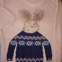 Sweater with a Bunny