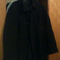 Ανδρικό παλτό 100% μαλλί