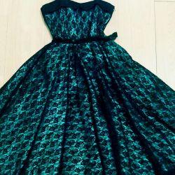 Вечернее дизайнерское платье на выпускной