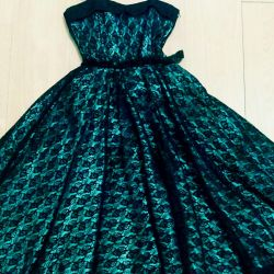 Evening designer dress for prom