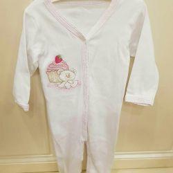 Slip / pajamas for girls
