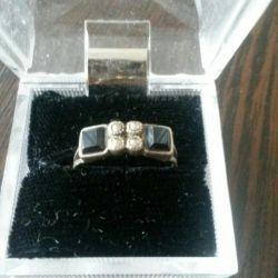 Δαχτυλίδι 925 ασήμι με πέτρες