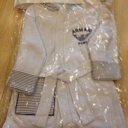 Подарочный набор халат, полотенце, рукавичка