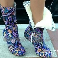 Κλωστοϋφαντουργικές μπότες νέες 38