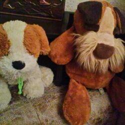 Дві м'які собаки по 199 руб.