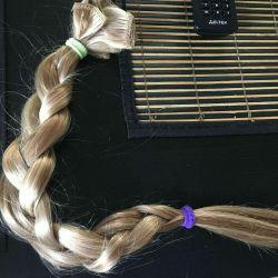 I will sell natural hair Slavic.