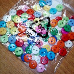 8mm buttons