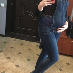 Maternity Jeans Overalls
