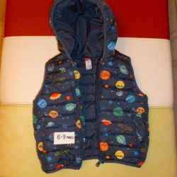 Vest 63-68 cm for 6-9 months