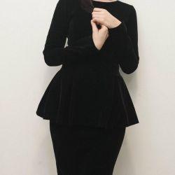 Çıkarılabilir baskalı yeni elbise