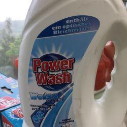 Gel de spălare cu apă de spălare alb 4 l
