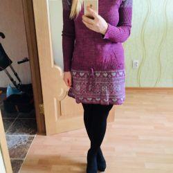 Rochie violet cald