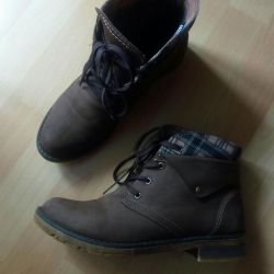 Boots. Genuine Leather.