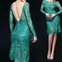 Luxurious lace dress