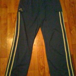 Спортивні штани сині р.44-46, зріст 164