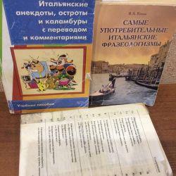 İtalyanca'da Kitaplar ve Ders Kitapları