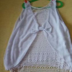 White blouse as a gift