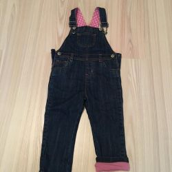 Children's things, new overalls for 12-18 months