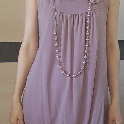 Νέα Τουρκία 44-48r φόρεμα φανέλα και έγκυος