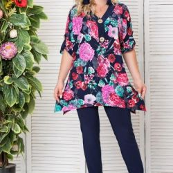 New tunic for size 56-58