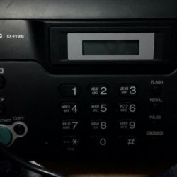 Факсимильный аппарат в отличном состоянии.