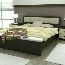 Bed with mattress 160/200.