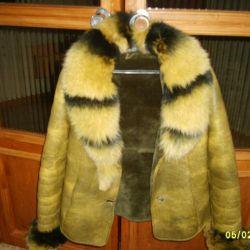 Куртка- дубленка, женская