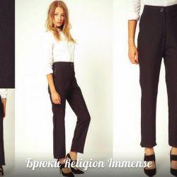 Pants Religion Immense Original.New.