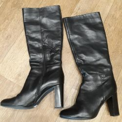 Spring boots, leather 41/42