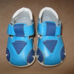 Sandalet - deri. Boyut 11,5