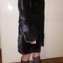 Mink fur coat. Very thick fur.